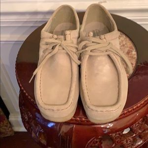 Authentic Clark's practically brand new worn once